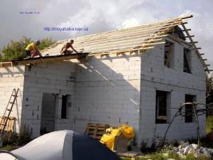Обустройство крыши дома своими руками с листов Onduline